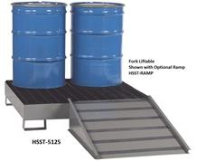 ALL-STEEL SPILL CONTROL PLATFORMS